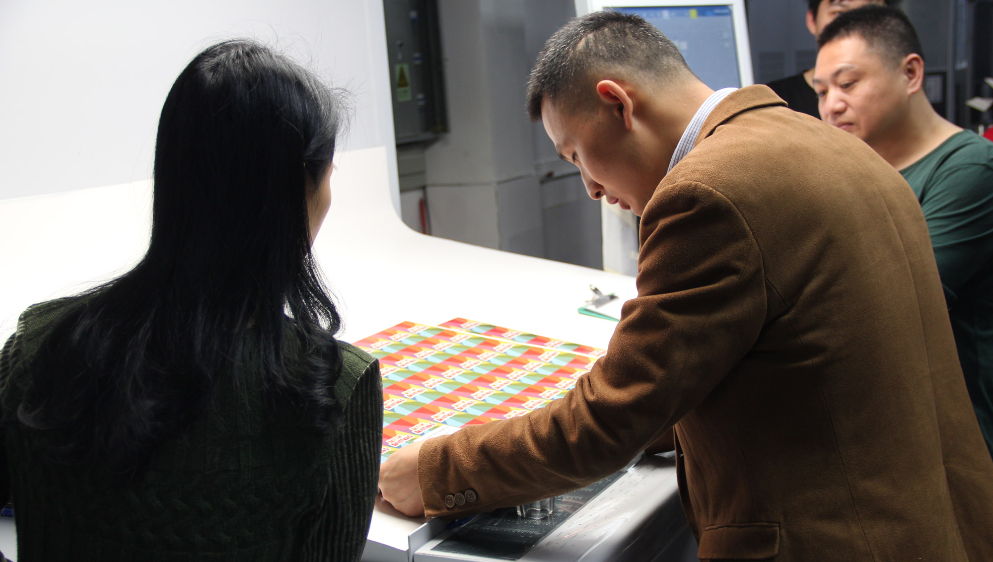 Board Game Printing inspection for the Offset Printing process